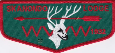 Nacha Nimat Lodge #86 Centennial Set 1915-2015 Skanondo HF1