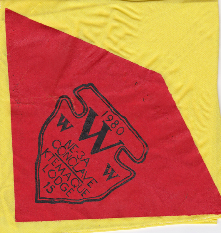 Section NE-3A 1980 Conclave Neckerchief
