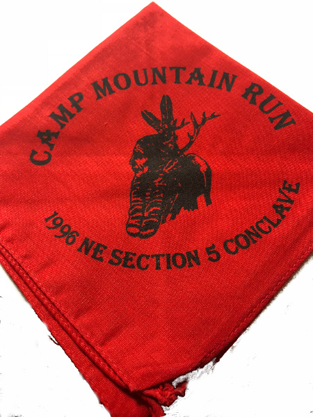 Section NE-5 1996 Conclave Neckerchief