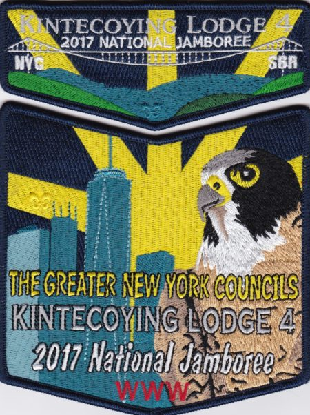 Kintecoying Lodge #4 2017 National Jamboree Set S9 X6