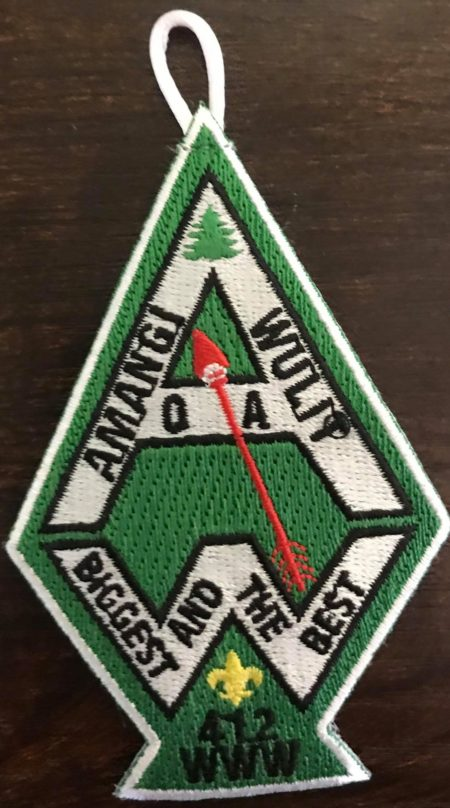 Buckskin Lodge #412 Amangi Wullit Chapter A2