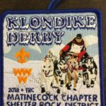 Buckskin Lodge #412 Matinecock Chapter 2018 Klondike Derby Patch eX2018-1