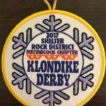 Buckskin Lodge #412 Matinecock Chapter 2017 Klondike Derby Patch eR2017-1