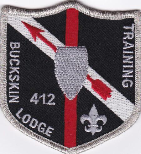 Buckskin Lodge #412 Training Patch X15
