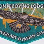 Kintecoying Lodge #4 10th Anniversary Ovarian Cancer Walk Flap S13