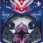 Kintecoying Lodge #4 2018 NOAC Fundraiser Set S10 X11