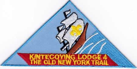 Kintecoying Lodge #4 The Old New York Trail X9