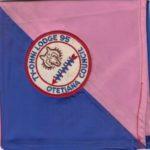 Ty-Ohni Lodge #95 1952 Youth NOAC Neckerchief?