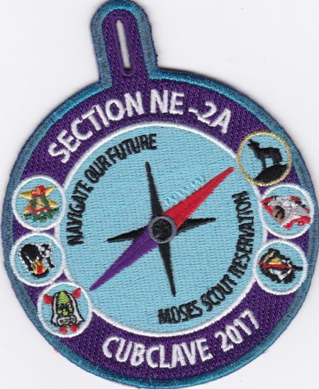 Section NE-2A 2017 Conclave Cubclave Patch