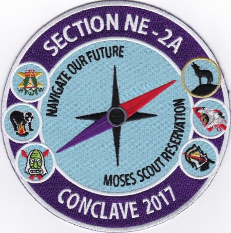 Section NE-2A 2017 Conclave Jacket Patch