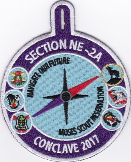 Section NE-2A 2017 Conclave Participant Patch