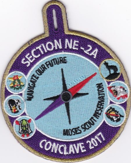 Section NE-2A 2017 Conclave Thank You Patch