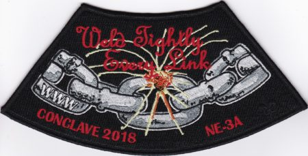 Section NE-3A 2018 Conclave Jacket Patch