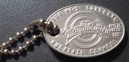Section NE-5 1996 Conclave Key Chain Front