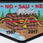 Ho-De-No-Sau-Nee Lodge #159 50th Anniversary Flap 1967-2017 S76