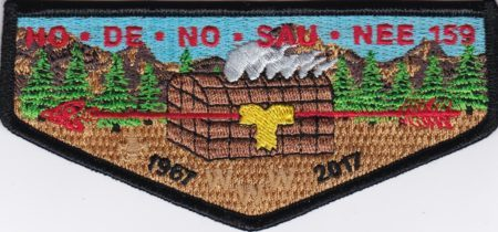 Ho-De-No-Sau-Nee Lodge #159 50th Anniversary Flap 1967-2017 S77