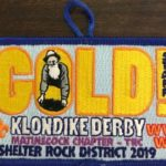 Buckskin Lodge #412 Matinecock Chapter 2019 Klondike Derby Staff Patch eX2019-2