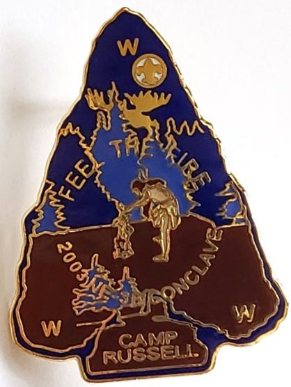 Section NE-3B 2003 Conclave Pin
