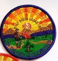 NE-3B 2005 DBL Section Conclave Pocket Patch