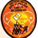Section NE-7A 2010 Conclave Pocket Patch No Loop