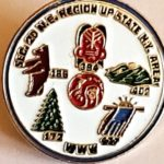 Section NE-2D 1982 Conclave Pin
