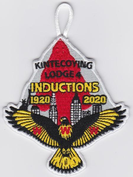 Kintecoying Lodge #4 2020 Inductions Patch 4eA2020-3